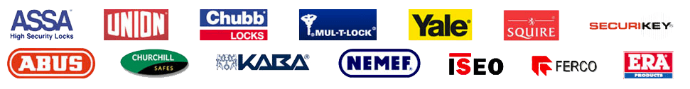 Secure Locksmiths Cheltenham use these lock products