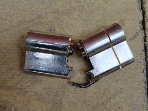 broken snapsafe lock