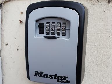 key safe installers Cheltenham