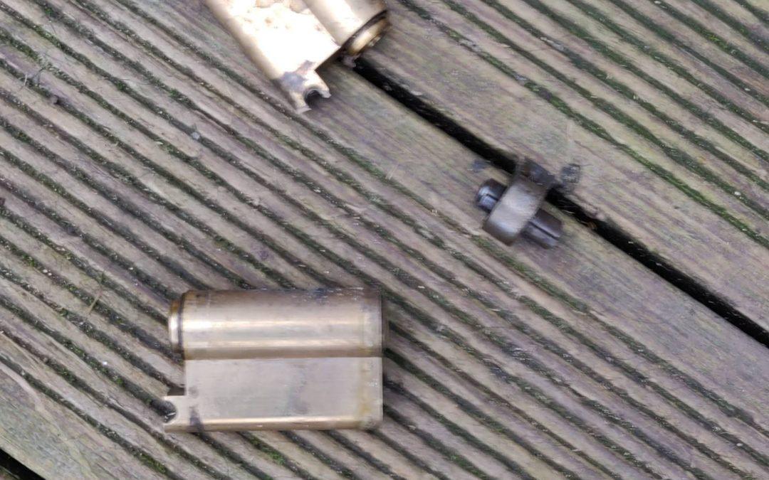 Targeted Lock Snapping St. Paul's, Cheltenham